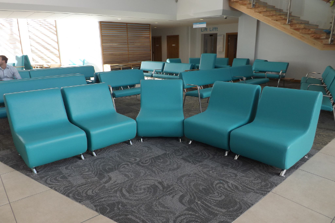 HNS waiting area